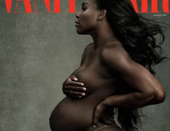 Serena Williams appears on Vanity Fair cover