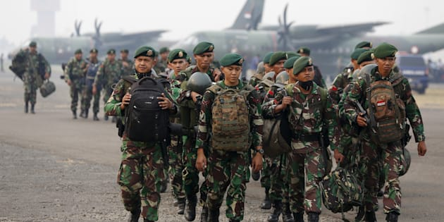 Cooperation between Indonesian and Australian military has been suspended