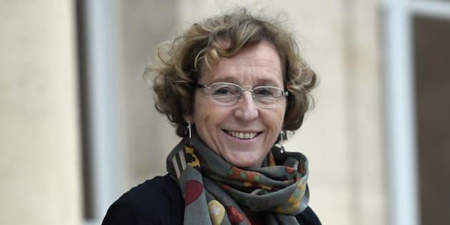 Muriel Pénicaud à l'Elysée le 12 janvier 2018.