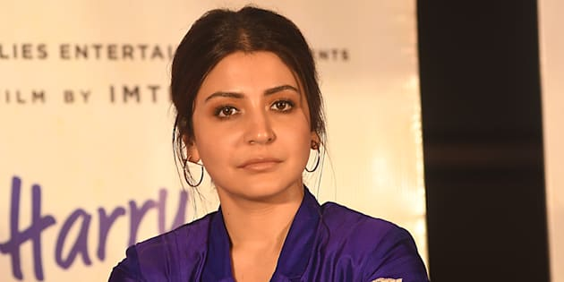 Indian Actress Anushka Sharma  at the  press conferences  at the Film director Imtiaz Ali upcoming film  Jab Harry Met Sejal  promotion on August 05,2017 in Kolkata,India.  (Photo by Debajyoti Chakraborty/NurPhoto via Getty Images)