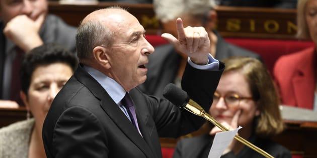 Gérard Collomb à l'Assemblée nationale le 21 novembre 2017.