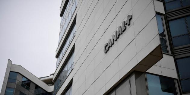 Les bureaux du groupe Canal+ à Issy-les-Moulineaux.