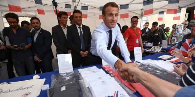 Boutique de l'Élysée: 350.000 euros de ventes en trois jours.