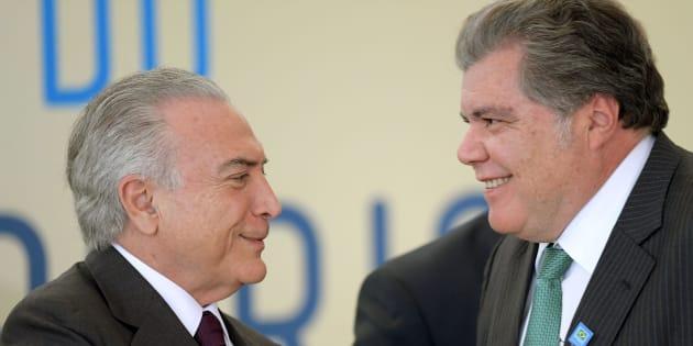 Presidente Michel Temer e o ministro do Meio Ambiente, Sarney Filho: a promessa de um novo decreto.