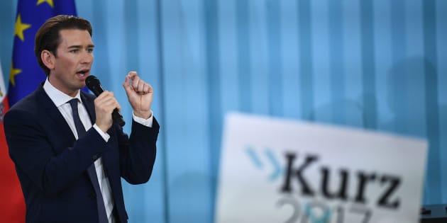 Sebastian Kurz, líder y candidato del Partido Popular Austriaco (ÖVP).