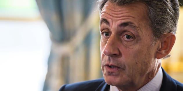 """Sarkozy appelle la droite à """"chasser en meute""""."""