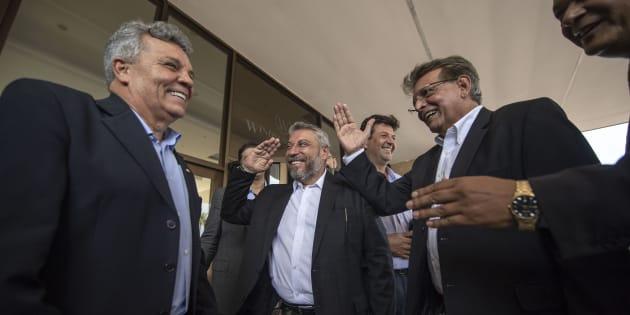 Entre os que visitaram Bolsonaro antes do segundo turno estão os deputados Alberto Fraga, Laudívio Carvalho e Pauderney Avelino.