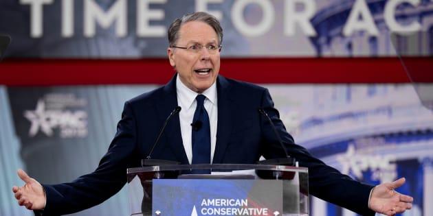 Wayne LaPierre, PDG de la NRA.
