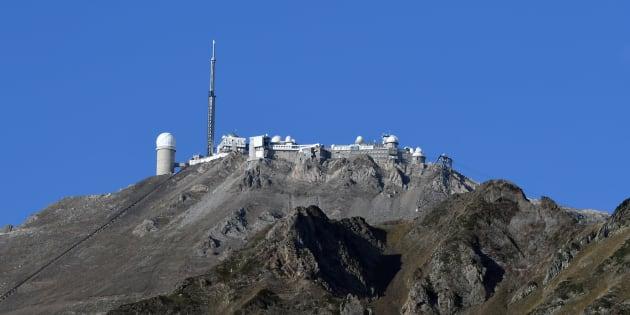 Une photo de l'observatoire du Pic du Midi en octobre 2017.