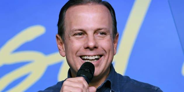 Prefeito João Doria deve ser oficializado como pré-candidato do PSDB ao governo de São Paulo neste domingo (18).