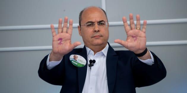 Wilson Witzel foi o candidato mais votado no 1º turno das eleições para o governo do Rio.