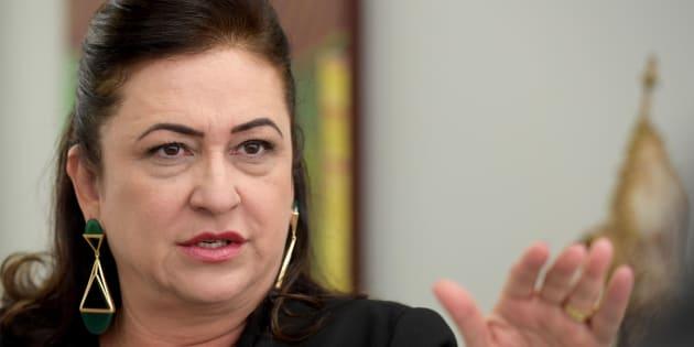 A senadora Kátia Abreu (PDT-TO) foi convidada para ser vice de Ciro Gomes e aceitou.