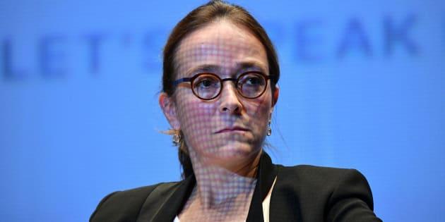 """Delphine Ernotte assure qu'il n'y a pas de """"tensions"""" entre France Télévisions et l'État."""