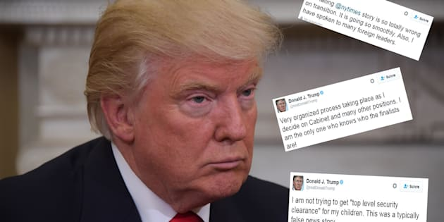 Sur Twitter, Donald Trump règle ses comptes avec ses détracteurs