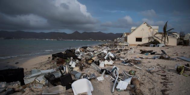 Un ouragan comme Irma peut doper le PIB à court terme, mais c'est bel et bien une catastrophe économique