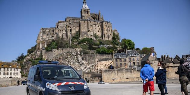 Mont-Saint-Michel: un homme soupçonné d'avoir proféré des menaces contre les forces de l'ordre a été interpellé