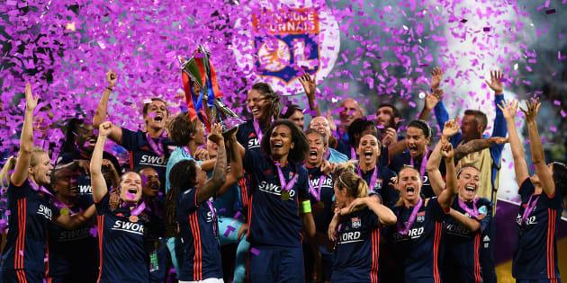 Ligue des champions féminines: l'Olympique lyonnais remporte son cinquième trophée et entre dans l'histoire