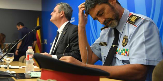 """Crise en Catalogne: Le chef des Mossos, Josep Lluis Trapero, convoqué par la justice espagnole pour """"sédition"""""""