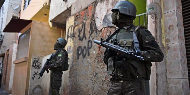 A presença das Forças Armadas não é novidade no Rio de Janeiro, já foi usada em grandes eventos como os Jogos Olímpicos.
