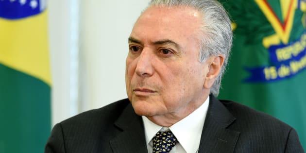 Ordem dos Advogados do Brasil (OAB) protocoloa pedido de impeachment do presidente Michel Temer.