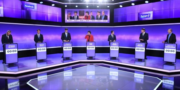 L'audience du dernier débat de la primaire du PS moins bonne que celle du 1er (et loin de la primaire de droite)