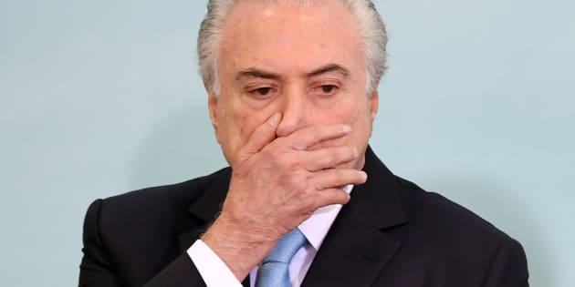 """Em entrevista à revista Época, presidente Michel Temer é acusado de ser """"chefe de quadrilha"""" por Joesley Batista."""