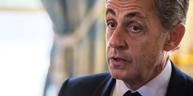 """Calmels virée par Wauquiez: Sarkozy appelle au rassemblement, sans qui """"rien n'est possible"""" (Photo d'illustration: Nicolas Sarkozy le 6 novembre 2017 à l'Elysée)"""