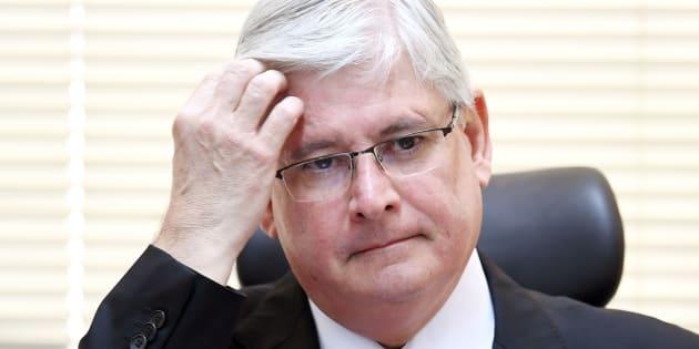 Procurador-geral da República, Rodrigo Janot, defendeu investigações contra corrupção.