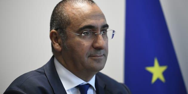 Le chef de ladirection générale de la Sécurité intérieure en France, Laurent Nuñez.