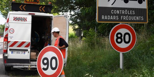 Depuis la limitation à 80 km/h sur les routes secondaires, les radars flashent deux fois plus (Image d'illustration).