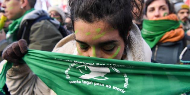 Argentina  legalizó el aborto