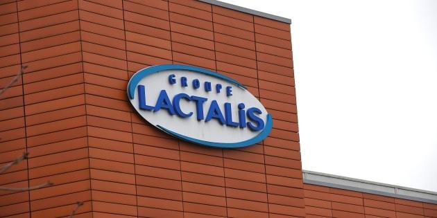 Le siège social de Lactalis à Laval, le 12 janvier 2018.
