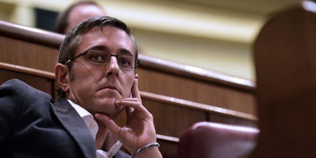 El exdiputado socialista Eduardo Madina cuando todavía era diputado.