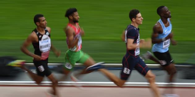 Pierre-Ambroise Bosse champion du monde du 800m à Londres
