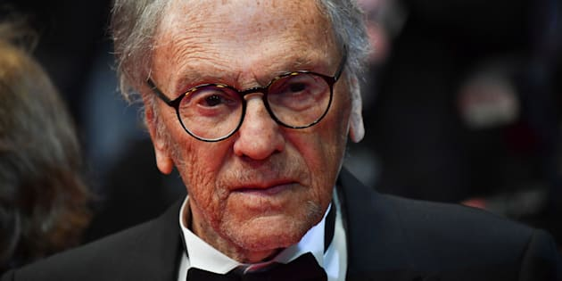 ALBERTO PIZZOLI via Getty Images                       Jean Louis Trintignant le 22 mai 2017 à Cannes