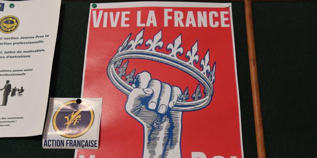 """Des militants de l'Action française mis en examen pour """"attroupement armé"""" (photo d'illustration)."""