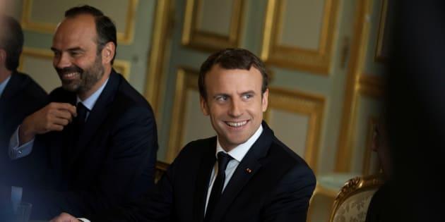 La popularité d'Emmanuel Macron et Edouard Philippe en hausse