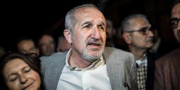 Le patron du journal Cumhuriyet, Akin Atalay.