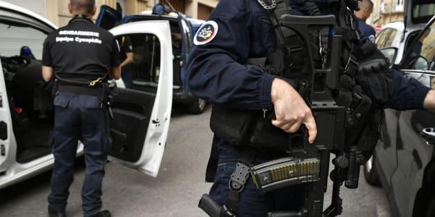 """Un homme soupçonné de préparer un """"projet d'action violente"""" arrêté dans le Nord."""