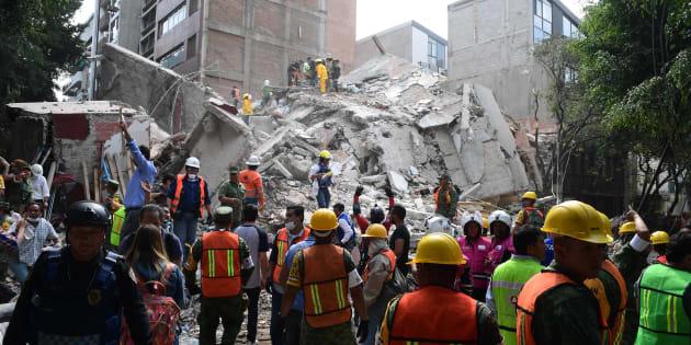 Con riesgo de colapso 52 edificios en la delegación Cuauhtémoc Monreal