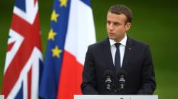 Macron veut accélérer les négociations sur le Brexit mais