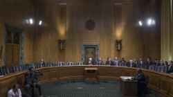 Senadores demócratas boicotean votación de nominados de Trump para