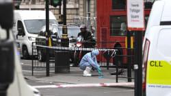 Arrestation à Westminster d'un homme armé de trois