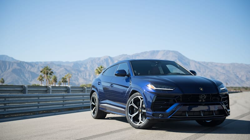 2019 Lamborghini Urus Track Drive Review