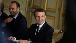 La popularité de Macron et Philippe en