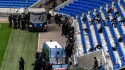 Les images de la vaste simulation d'attentat organisée dans le stade de