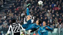Même le public de la Juve a applaudi ce retourné somptueux de Cristiano