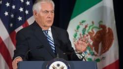 Trump envía a Tillerson para promover su agenda para