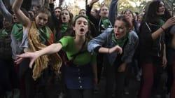 Las poderosas imágenes de las argentinas en la calle por la legalización del