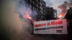 La Catalogne souligne l'anniversaire du référendum sous de vives